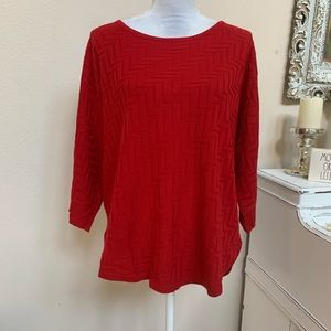 Dana Buchman High Low sweater size XL 0039